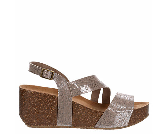 Womens Dixiee Wedge Footbed Sandal