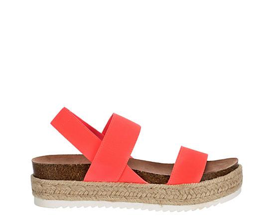 Womens Cybell Espadrille Platform Sandal