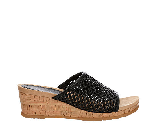 Womens Flossey Wedge Sandal