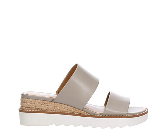 Womens Conan Espadrille Slide Wedge Sandal