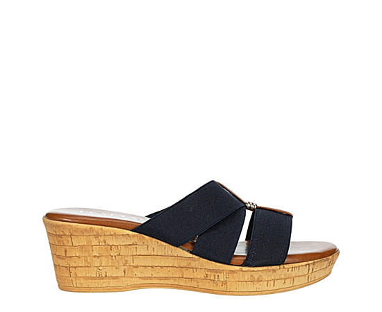 Womens Tayden Wedge Slide Sandal