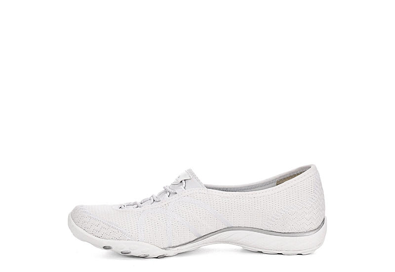 SKECHERS Womens Breathe Easy- Sweet Jam - WHITE