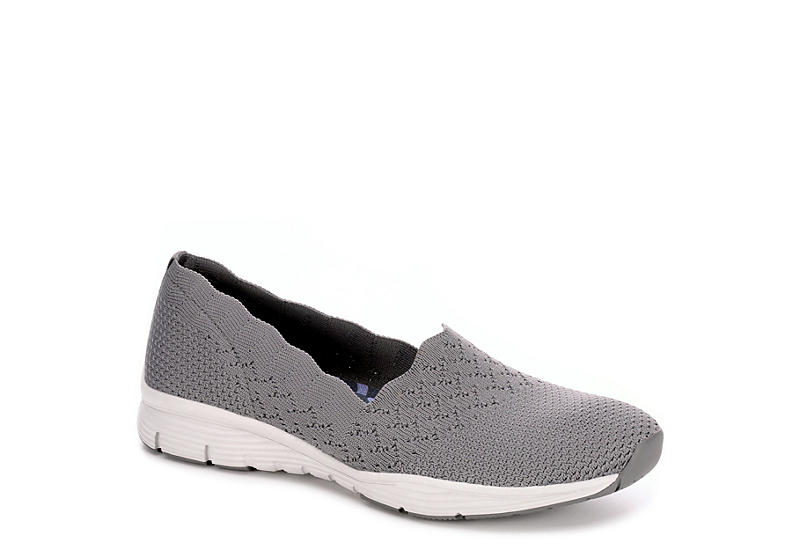 various design really comfortable best GREY SKECHERS MODERN Womens Seager Stat