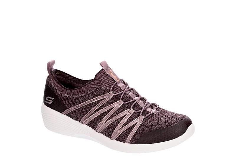 8bacfe963b Purple Skechers Womens Arya   Casual   Off Broadway Shoes