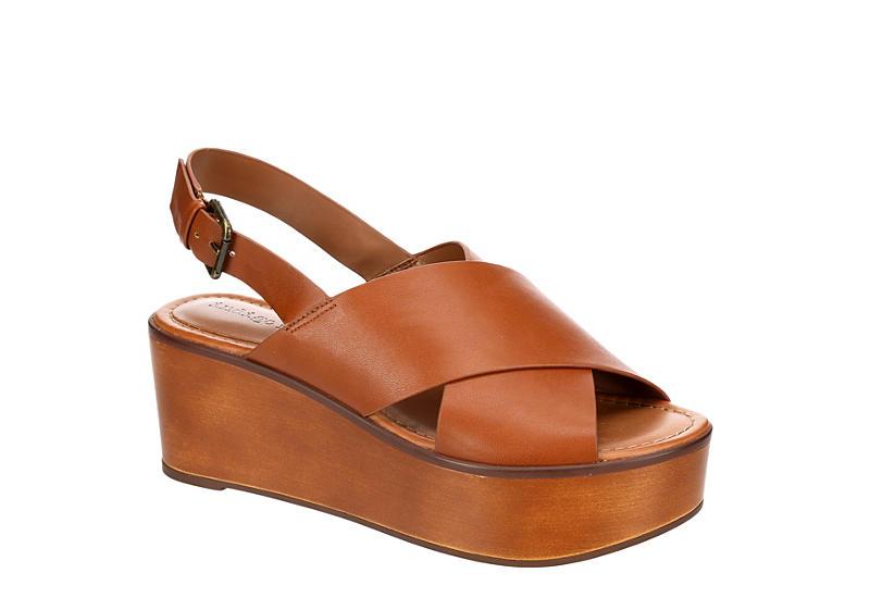 INDIGO RD. Womens Fayina Wedge Sandal - TAN