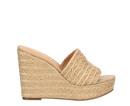 Womens Graciee Espadrille Wedge Sandal