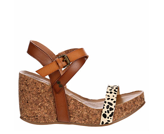 Womens Hirosha Cork Wedge Sandal