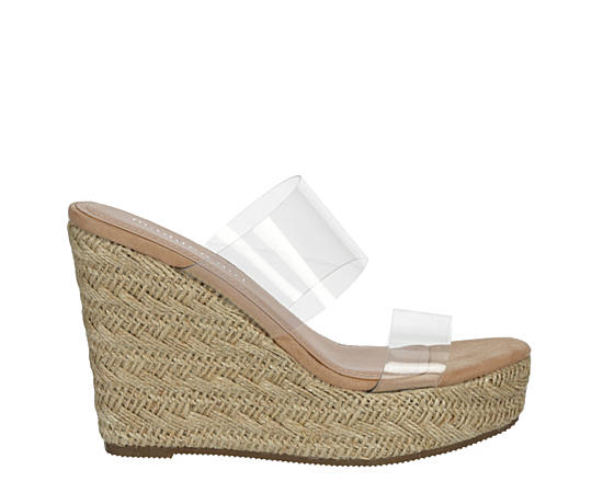 Womens Valiee Espadrille Wedge Sandal