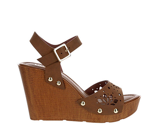 Womens Rally Wedge Sandal