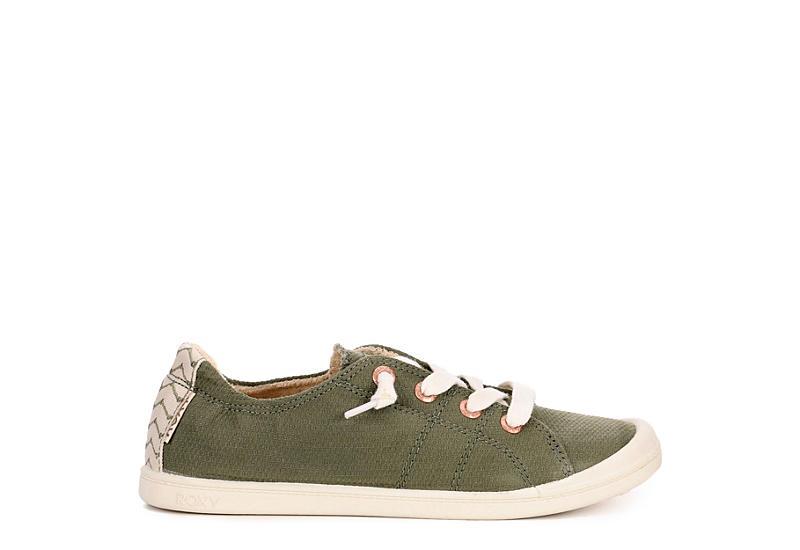 ROXY Womens Bayshore Slip-on Sneaker - GREEN