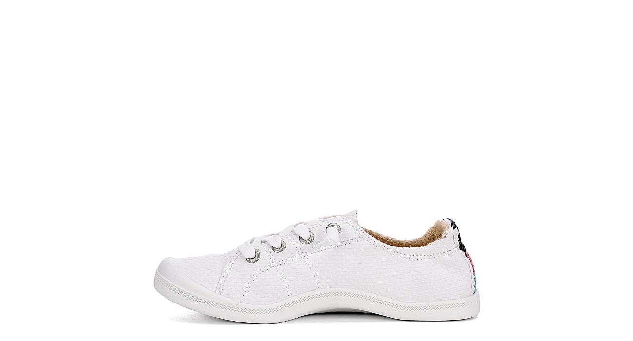 ROXY Womens Bayshore Slip-on Sneaker - WHITE