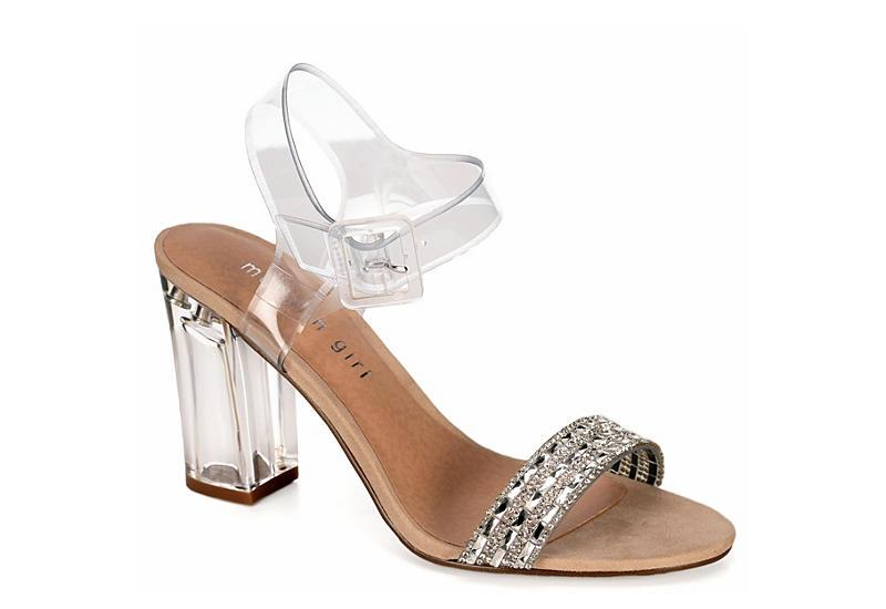 Madden Girl Trena Ankle Strap Heeled Sandal
