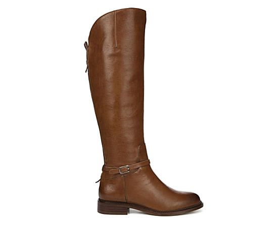 Womens Haylie Tall Wide Calf Ridiing Boot