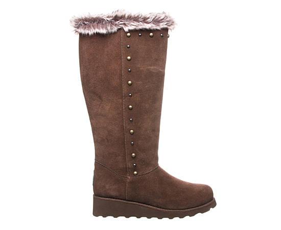 Womens Dorothy Tall Fur Boot