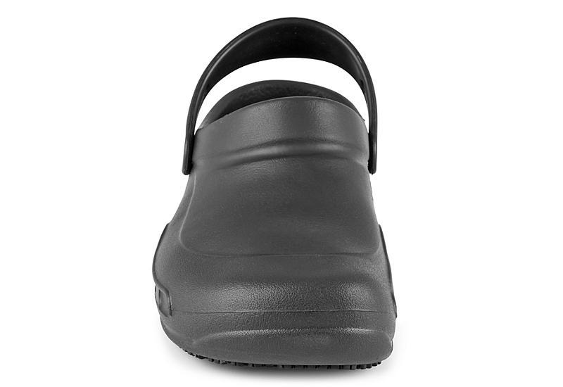 CROCS Mens Bistro Slip Resistsant Clog - BLACK