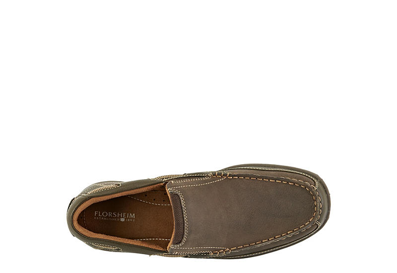 FLORSHEIM Mens Lakeside Slip Casual Loafer - STONE