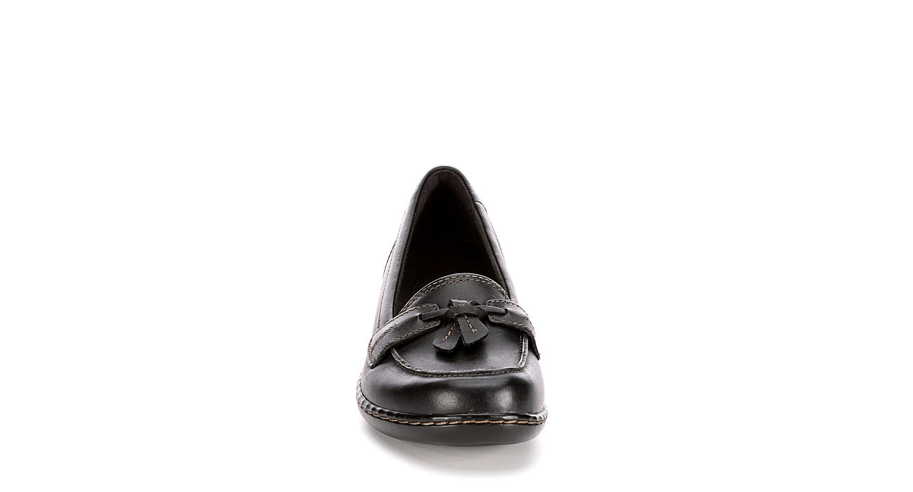 CLARKS Womens Ashland Bubble - BLACK