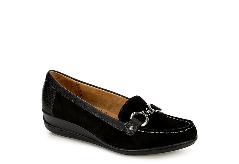 e5e646676d3 Natural Soul By Naturalizer Womens Wakefield - Black.  49.99 SALE