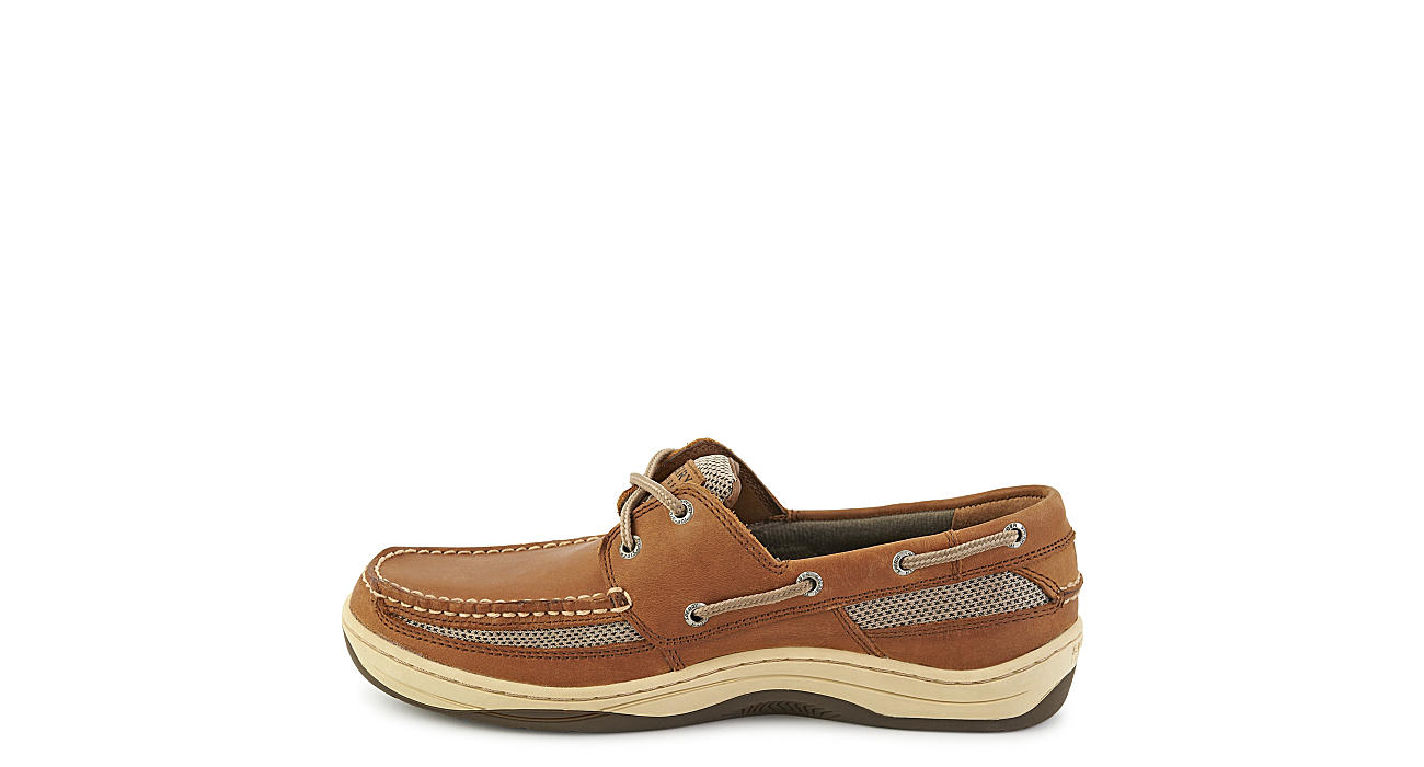 SPERRY Mens Tarpon 2-eye Boat Shoe - DARK TAN