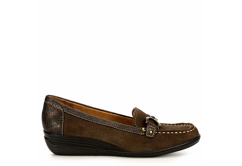 NATURAL SOUL BY NATURALIZER Womens Wakefield - GREY
