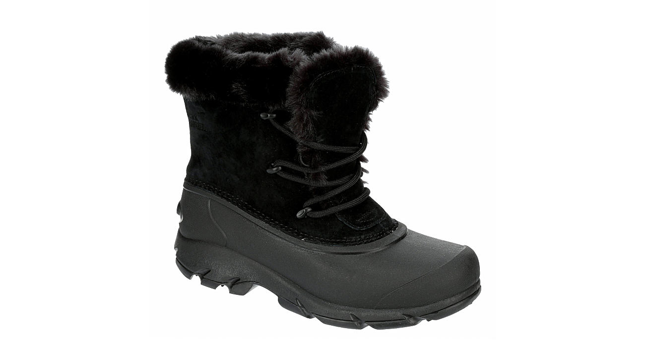 SOREL Womens Snow Angel Cold Weather Boot - BLACK