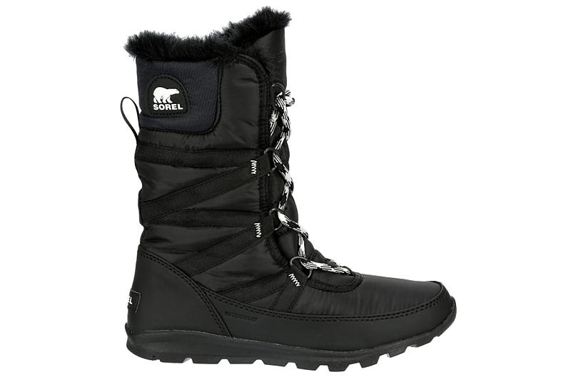 SOREL Womens Whitney Tall Cold Weather Boot - BLACK