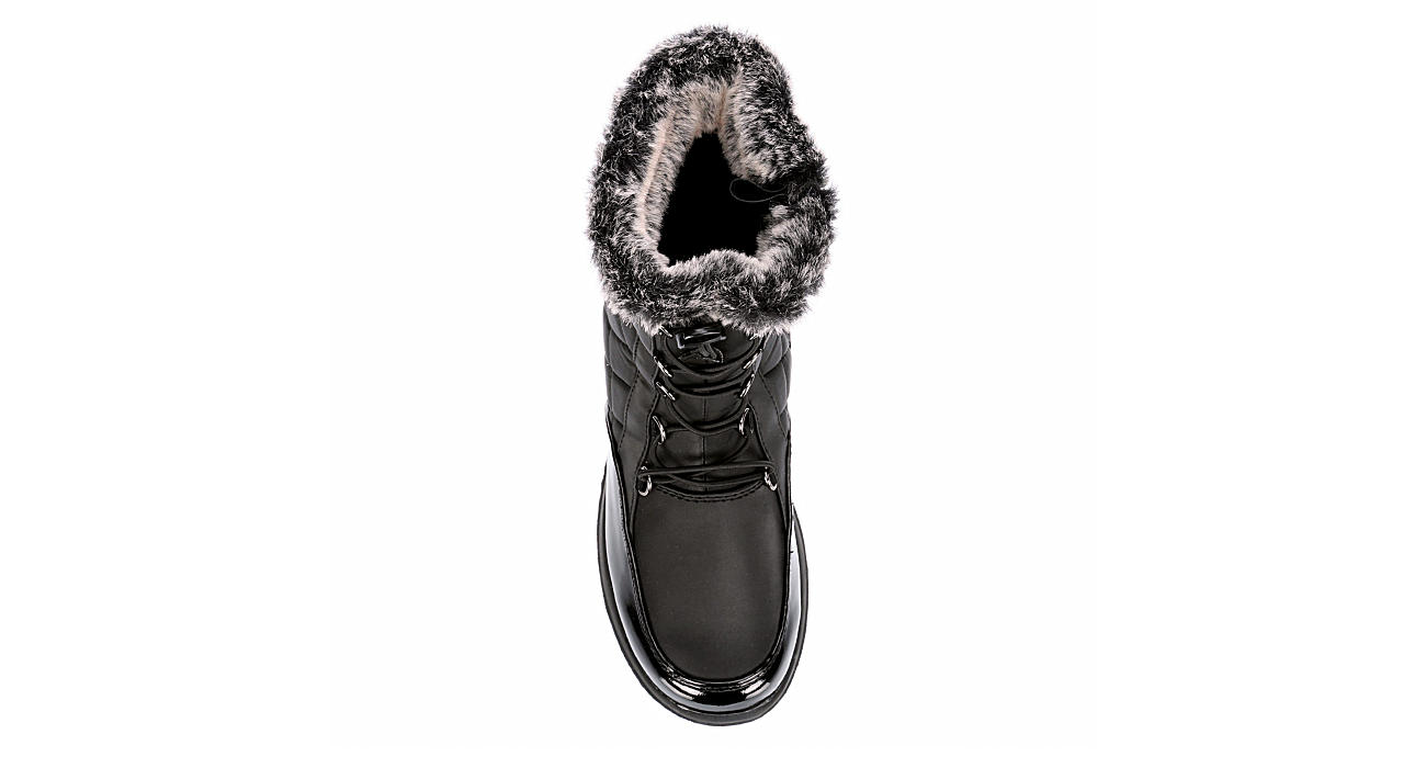 TOTES Womens Lindsey Cold Weather Boot - BLACK