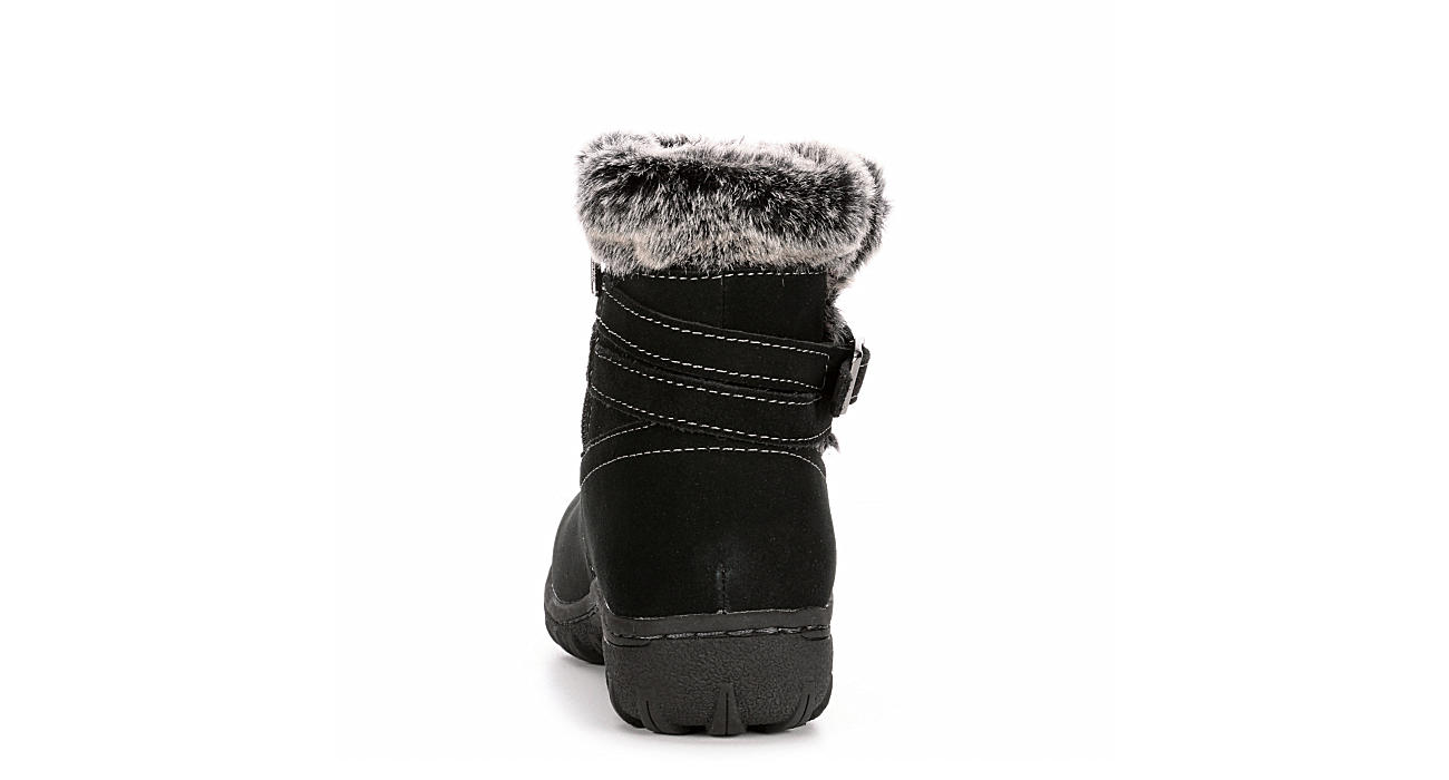KHOMBU Womens Candice Cold Weather Boot - BLACK