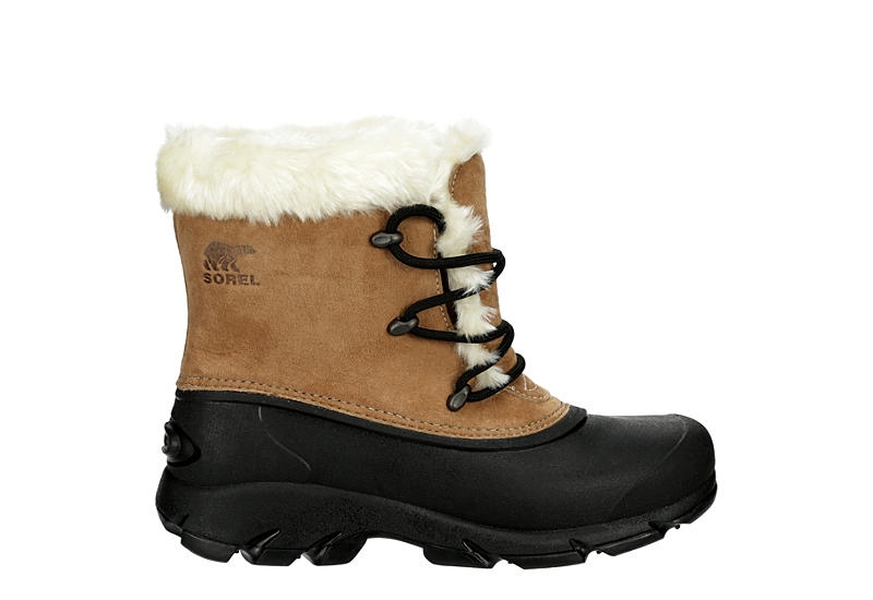 SOREL Womens Snow Angel Cold Weather Boot - BROWN