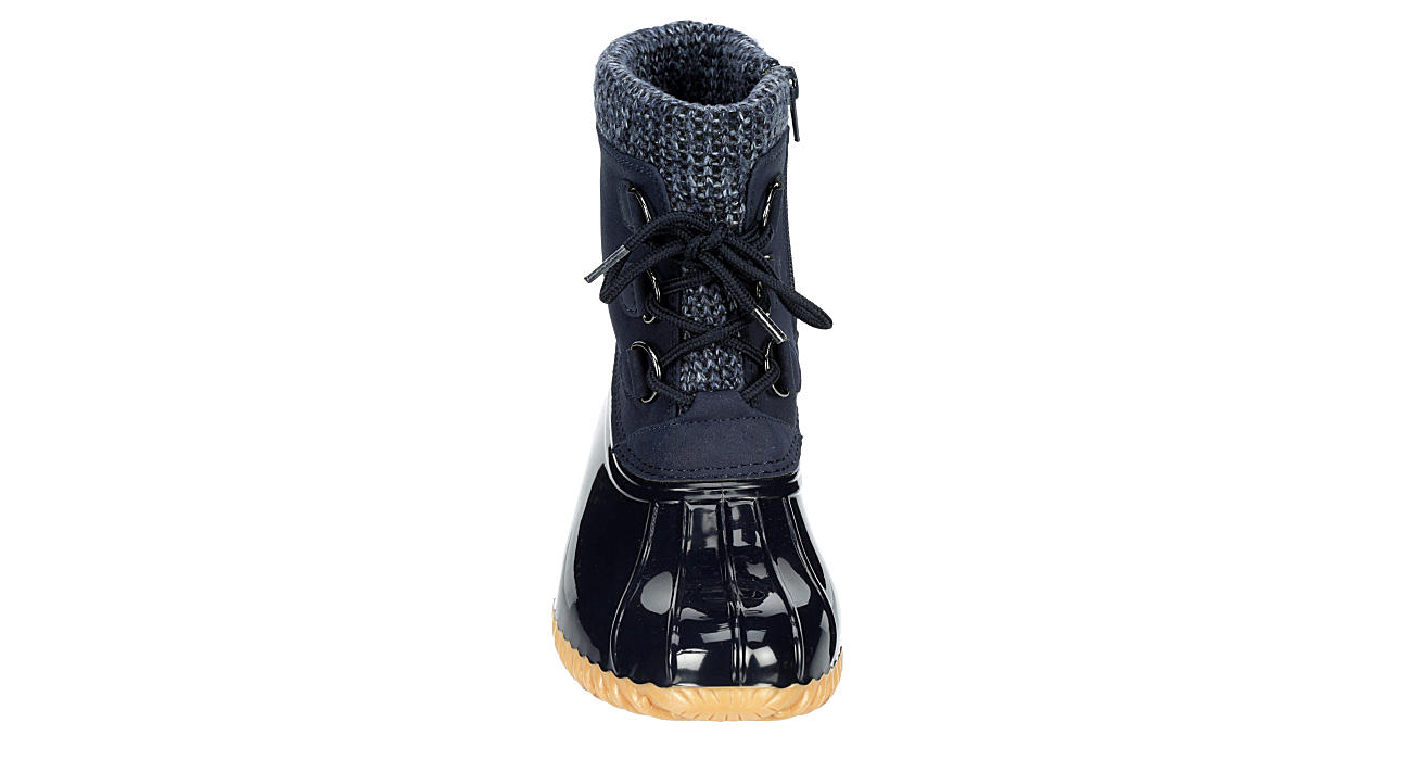 SPORTO Womens Deborah Duck Boot - NAVY