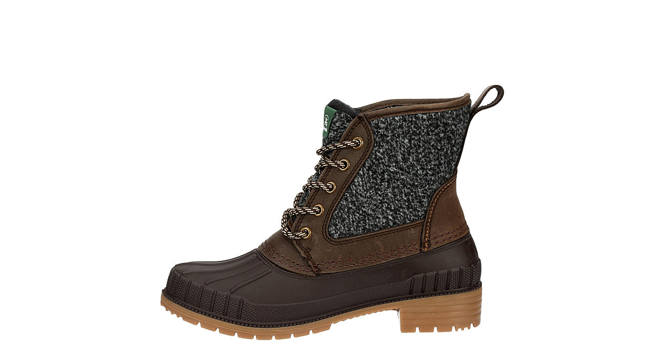KAMIK Womens Sienna Mid Duck Boot - CHOCOLATE