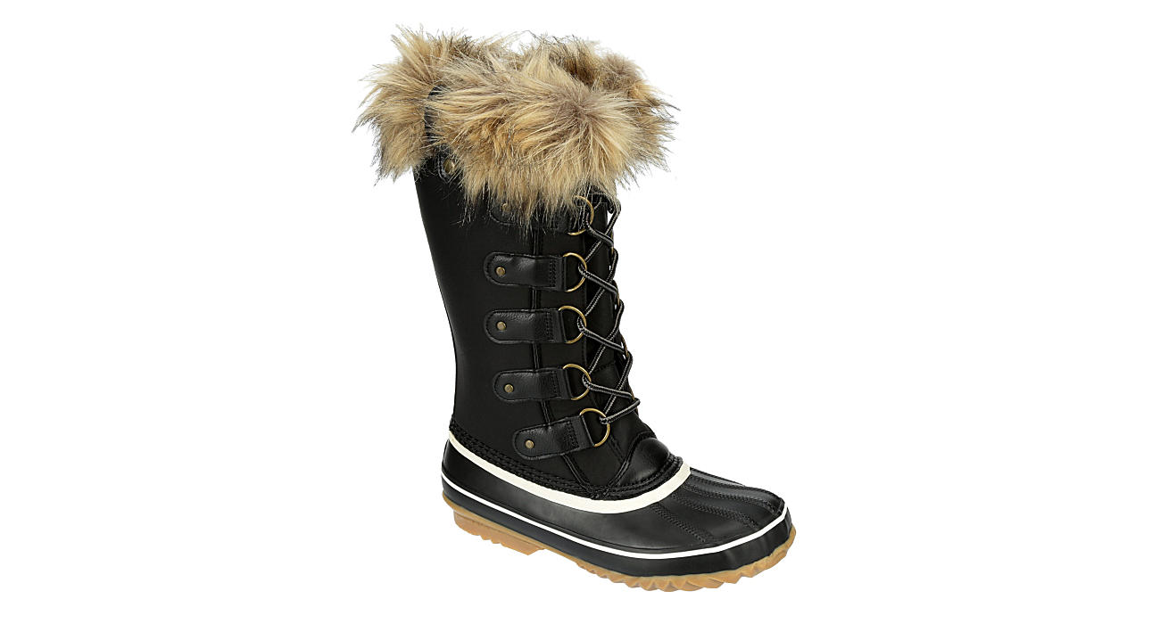 JBU Womens Edith Encore Cold Weather Boot - BLACK