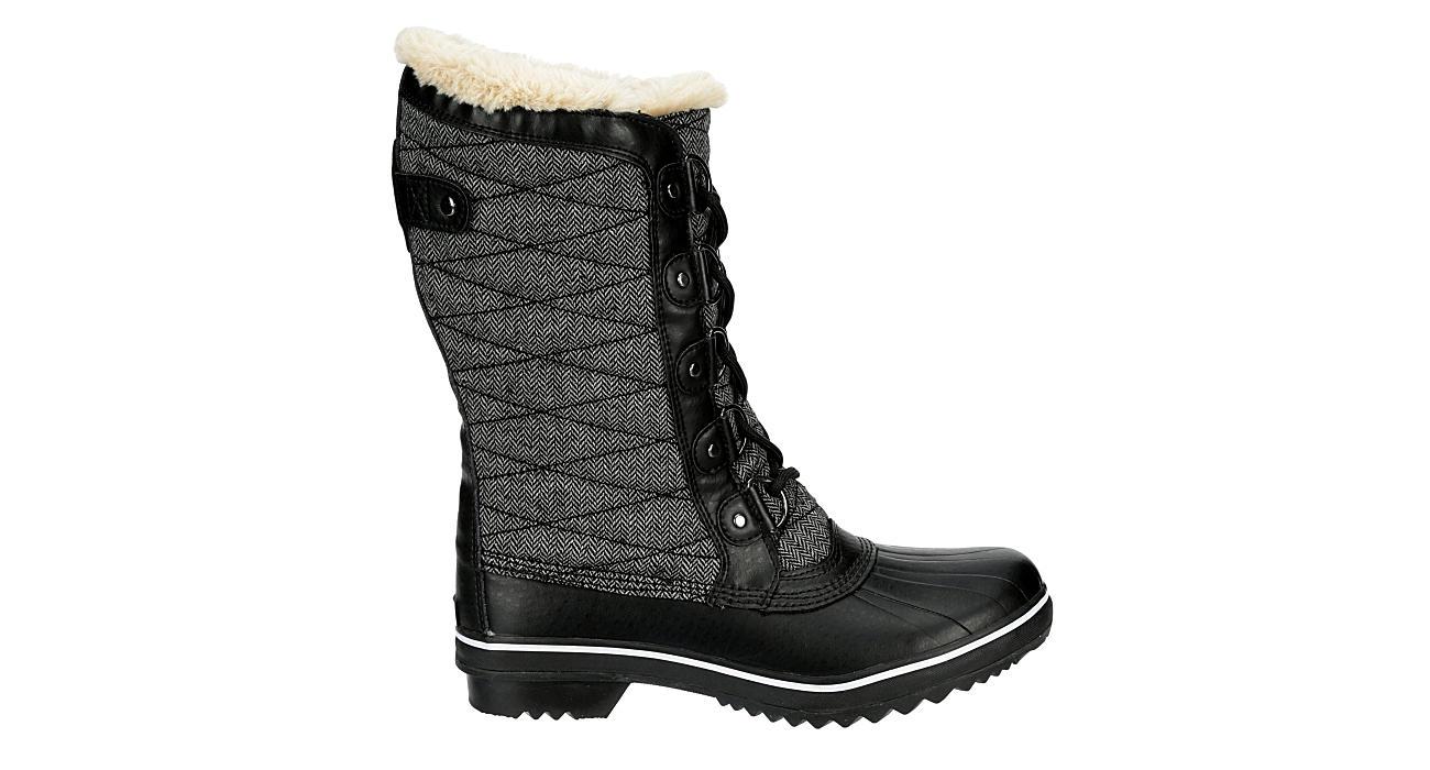 JBU Womens Lorna Encore Cold Weather Boot - BLACK