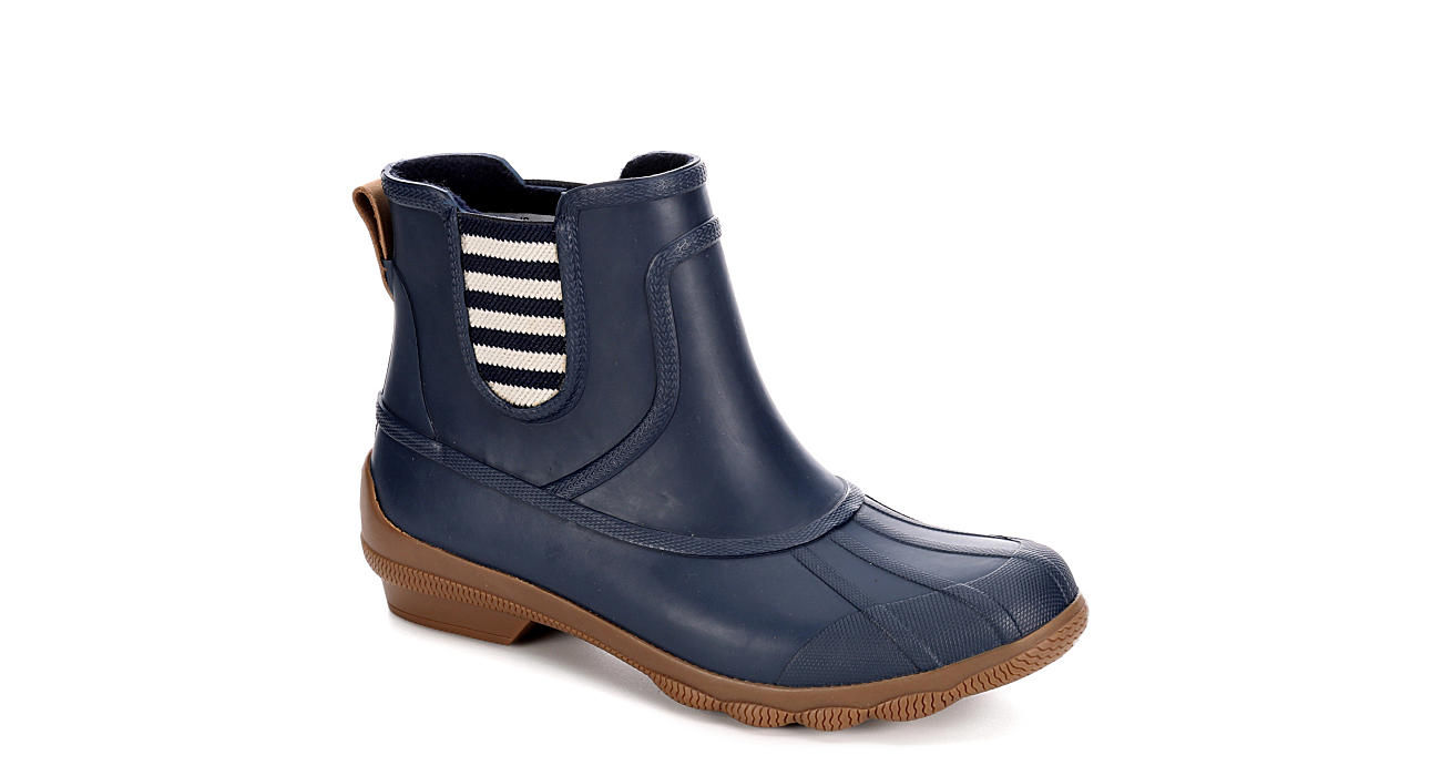 SPERRY Womens Syren Cove Duck Boot - NAVY
