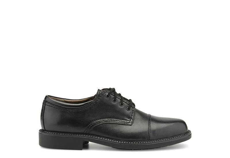 DOCKERS Mens Gordon Cap Toe Oxford - BLACK