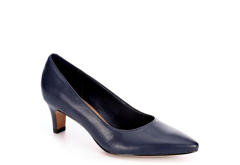 Womens Shoes Clarks Crewso Wick Navy