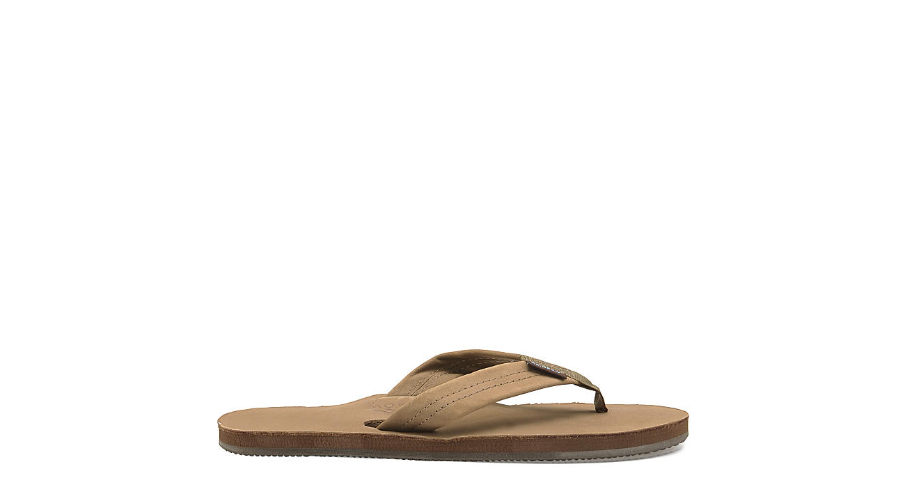 be675a6e75c7 Rainbow Sandals Mens 301 Alts Single Layer Leather Thong Sandal - Brown