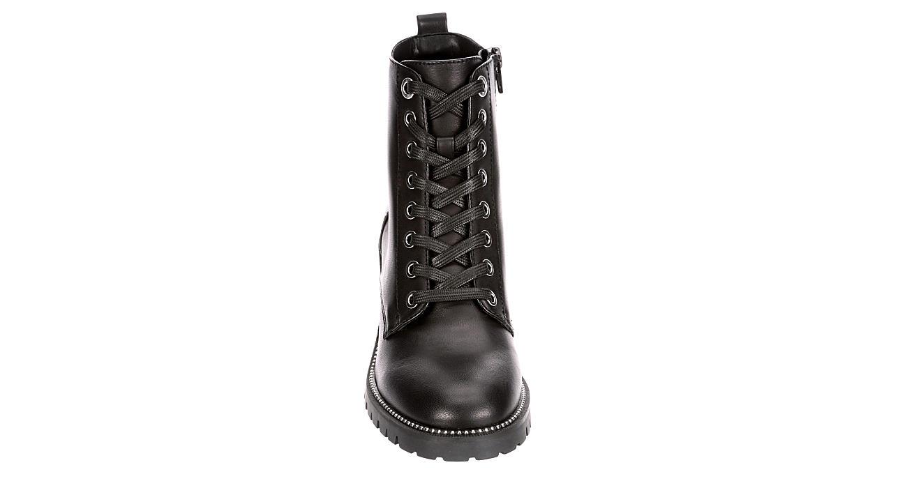 ALDO Womens Yanna Combat Boot - BLACK