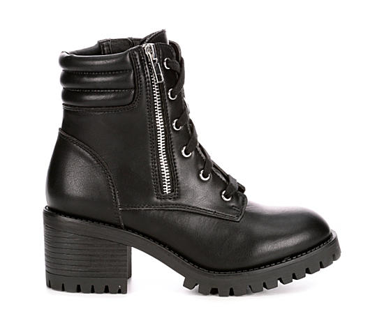 Womens Hushh Combat Boot