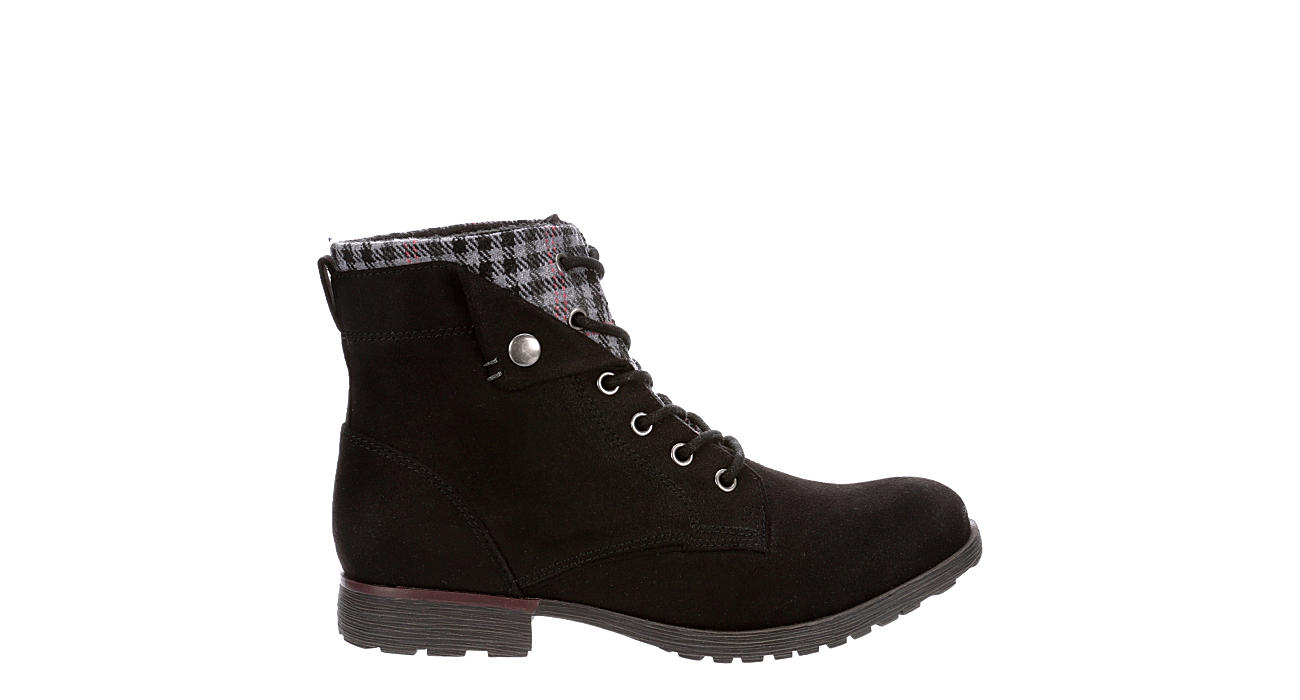 ROCK & CANDY Womens Tavin Hiker Boot - BLACK