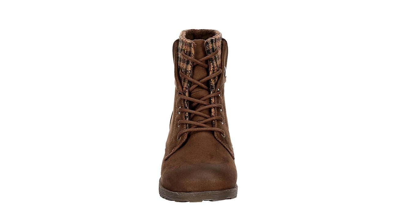 ROCK & CANDY Womens Tavin Hiker Boot - BROWN