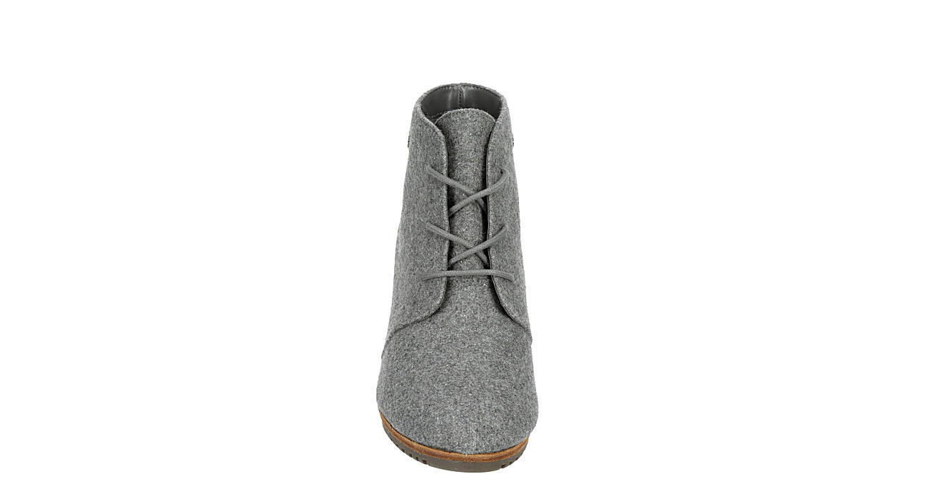 DR. SCHOLL'S Womens Conquer Wedge Bootie - GREY