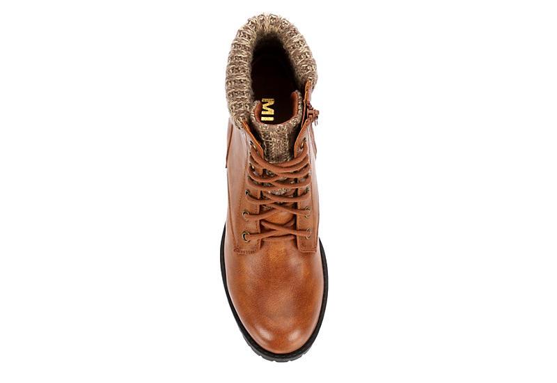 MIA Womens Alba Hiker Boot - TAN