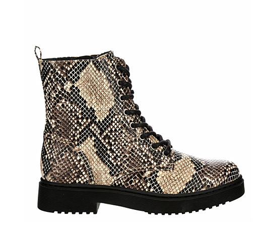 Womens Amara Combat Boot