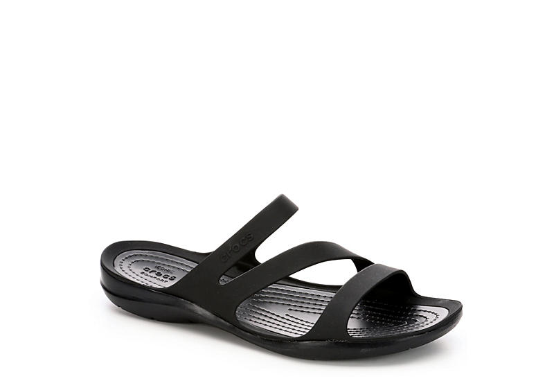 CROCS Womens Swiftwater - BLACK