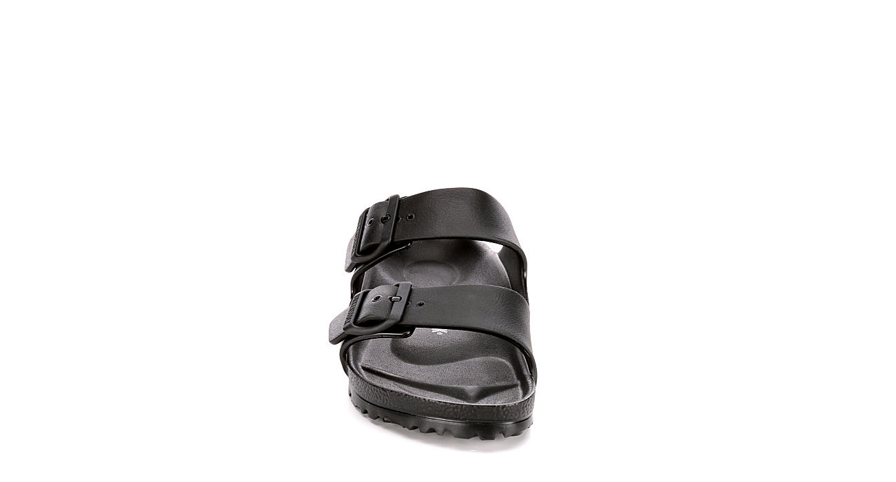 BIRKENSTOCK Womens Arizona Essentials Slide Sandal - BLACK