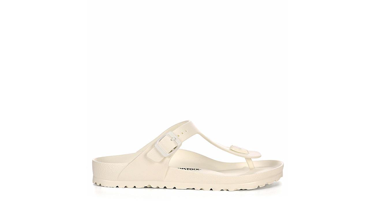 BIRKENSTOCK Womens Gizeh Essentials Flip Flop Sandal - WHITE