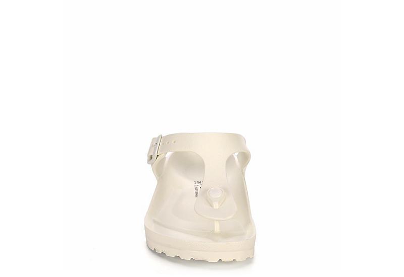 BIRKENSTOCK Womens Essential Gizeh Sandal - WHITE