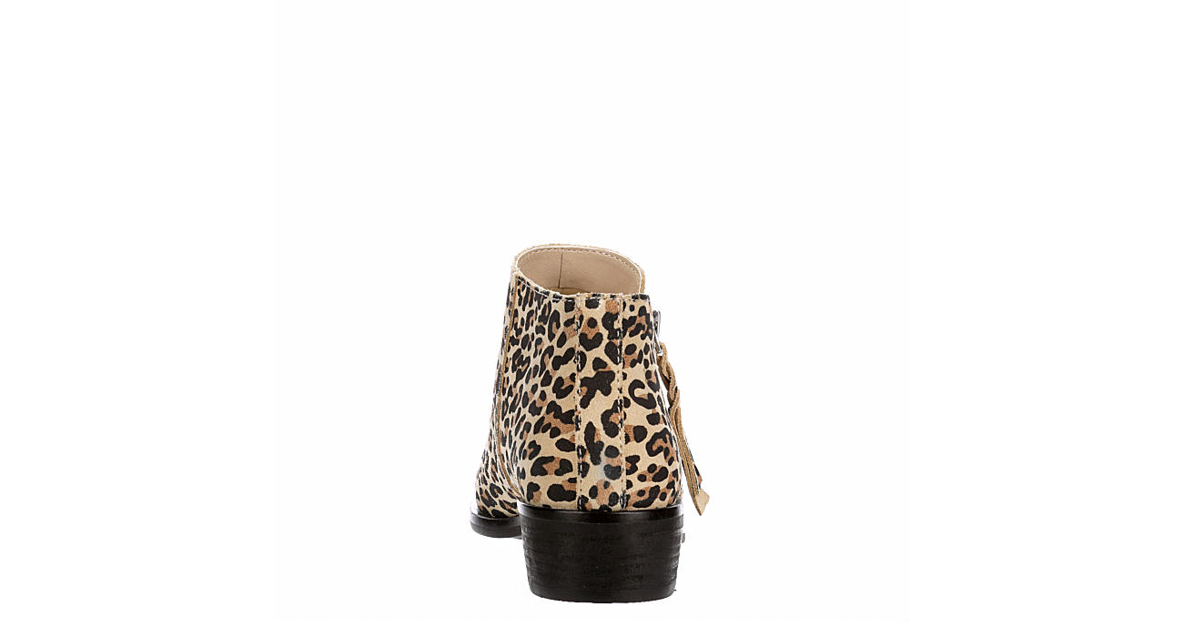 DOLCE VITA Womens Shilo Ankle Bootie - LEOPARD