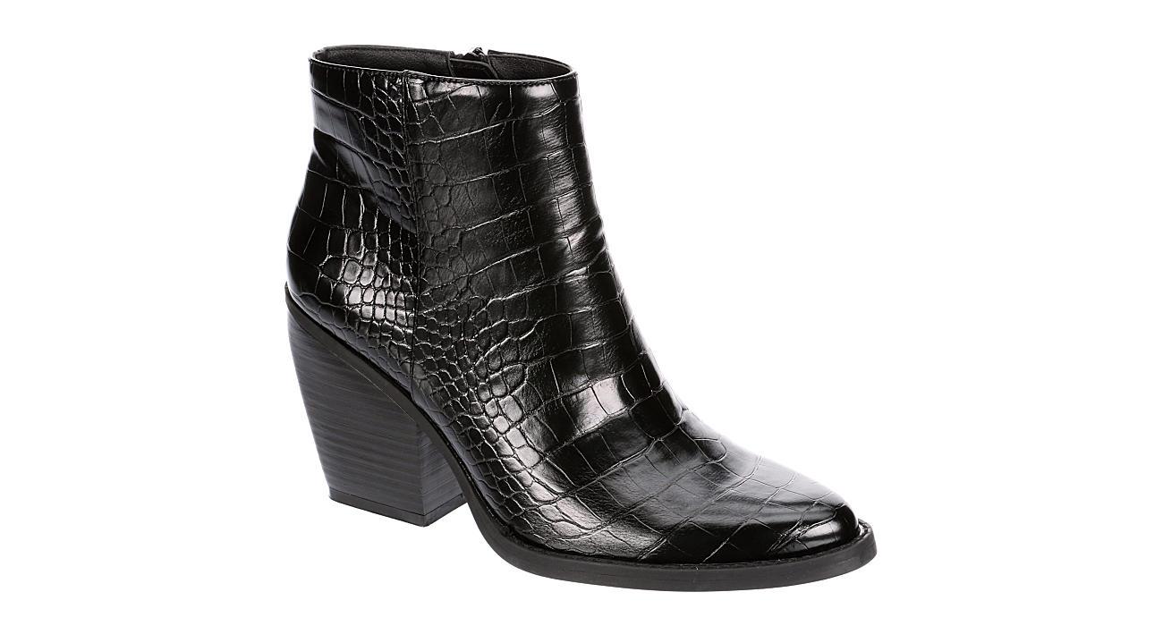 MADDEN GIRL Womens Klick Ankle Boot - BLACK